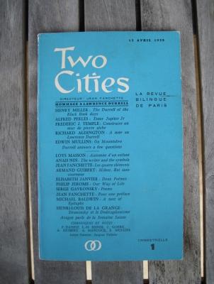 Le numéro 1 de Two Cities daté de 1959